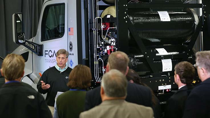 FCA upgrades parts delivery fleet to run on natural gas