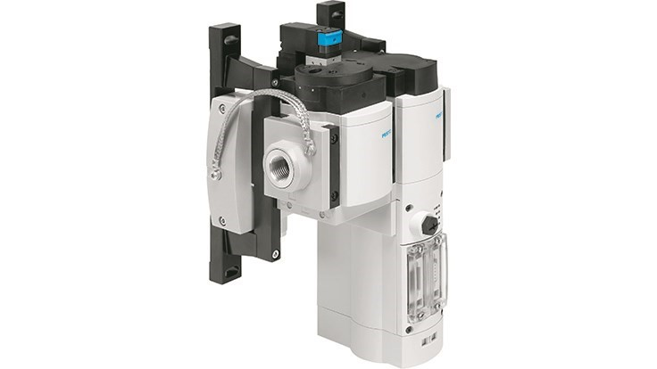 Festo's smart service unit lowers compressed air energy cost