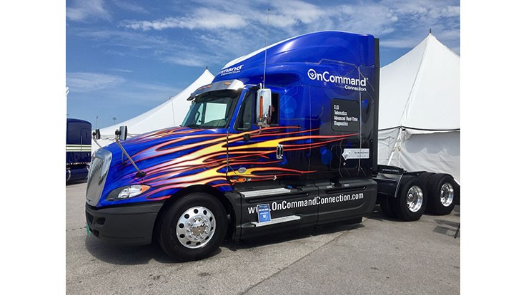 Navistar OnCommand Connection telematics is available for