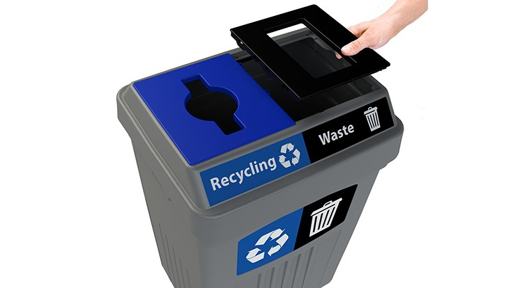 CleanRiver introduces recycled-content collection bins