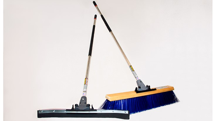 FlexSweep touts sustainability of 'unbreakable' push broom