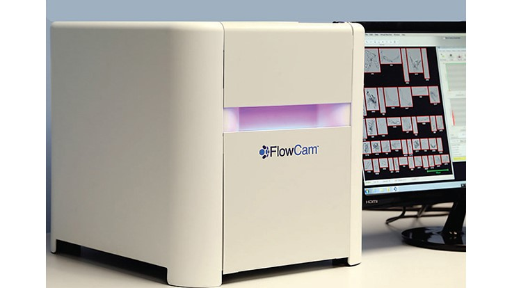 FlowCam 8100 Particle Analyzer Features Fast Throughput, Large Image Area