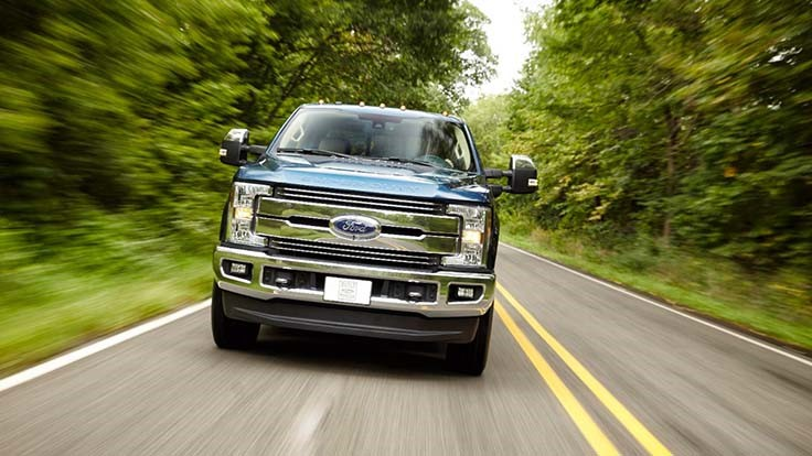 Ford F-250 pickup wins top government safety ratings