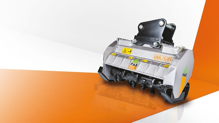 FAE Group introduces mulcher for 20 to 25 ton excavators