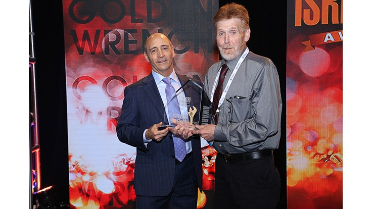 Cohen employee receives ISRI's Golden Wrench Award