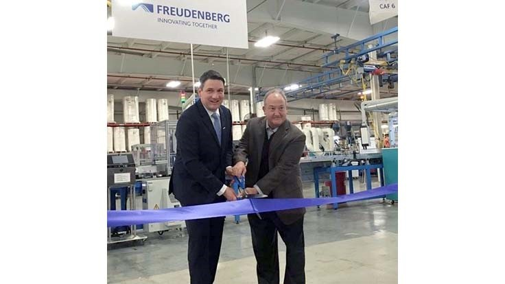Freudenberg adds air cabin filtration line to Kentucky plant
