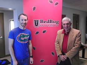 Bed Bug Boot Camp Scholarship Presented