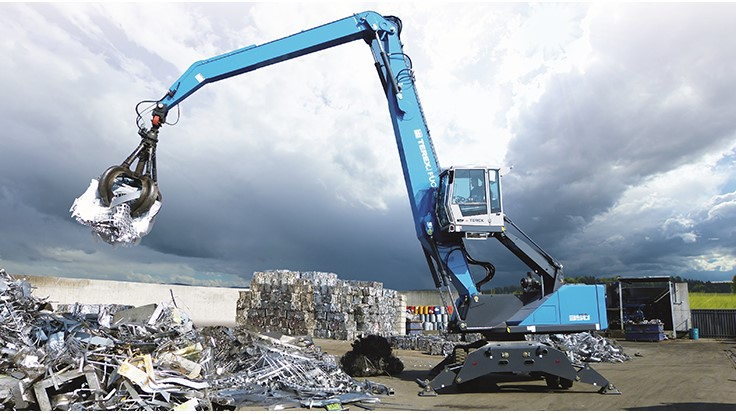 Cowin Equipment joins Terex Fuchs network - Recycling Today