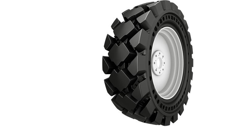 Galaxy introduces new solid skid steer tire