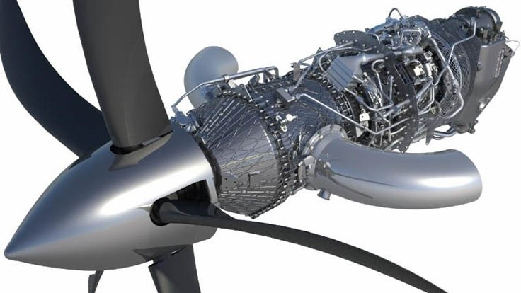 First run of GE's Advanced Turboprop engine
