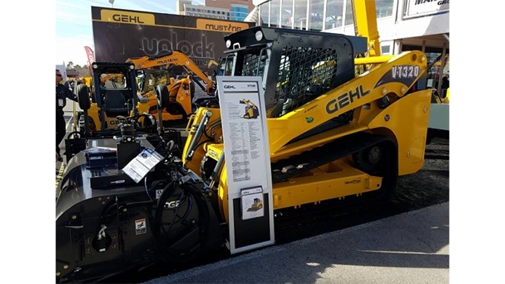 Gehl and Mustang introduce world's largest skid-steers