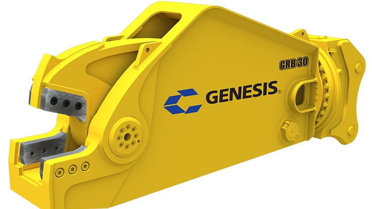 Genesis Attachments unveils new rail breaker