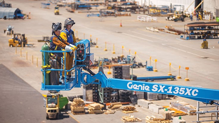 Genie introduces new line of boom lifts