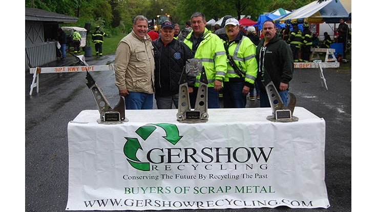 Gershow Recycling assists with 10th Annual Chuck Varese Vehicle Extrication Tournament