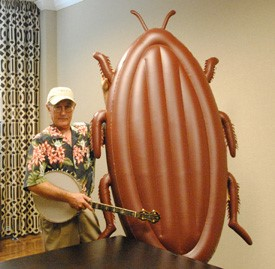 Inventor Hopes 6-Foot-Tall Inflatable Cockroach Catches On as a Quirky Marketing Tool