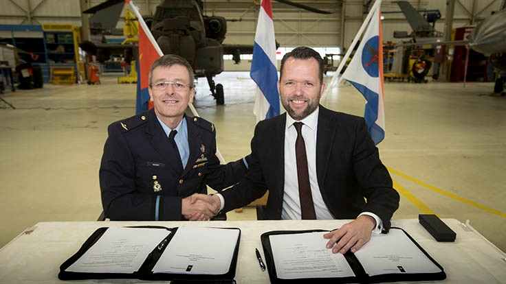 GKN Aerospace's Fokker, Dutch Air Force sign support agreement