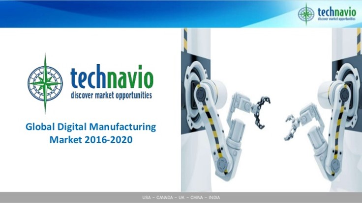 Top 5 vendors in the global digital manufacturing market