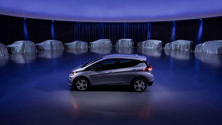 GM announces all-electric future car plans