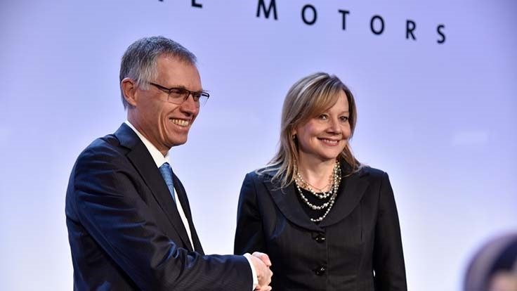 PSA Groupe to buy GM's Opel/Vauxhall for $2.3 billion