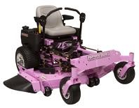 "Gravely's ""Pinky"" zero-turn mower travels to benefit breast cancer research"