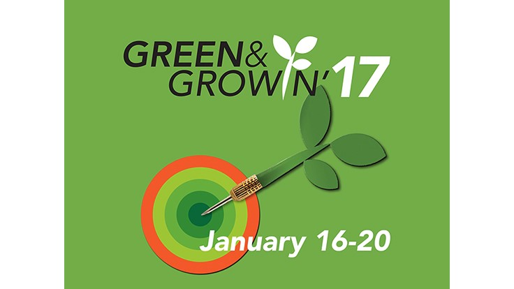 Registration now open for Green & Growin' 2017