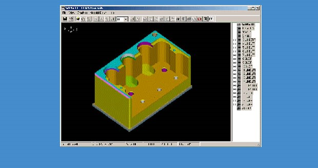 3D toolpath visualization in Griffo Brothers Camlink