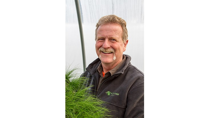 Bill Hall leads Hoffman Nursery's growing team
