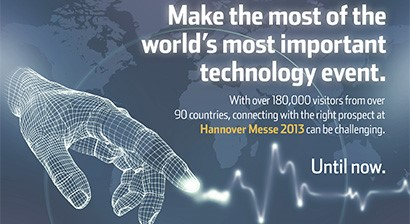 Hannover Messe 2013 Match & Meet
