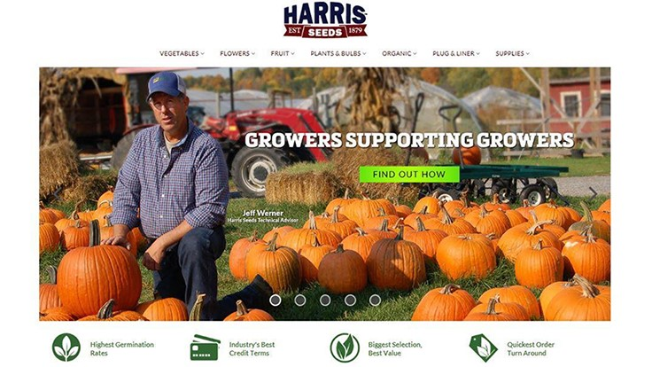 Harris Seeds adds new resource website for plant growers
