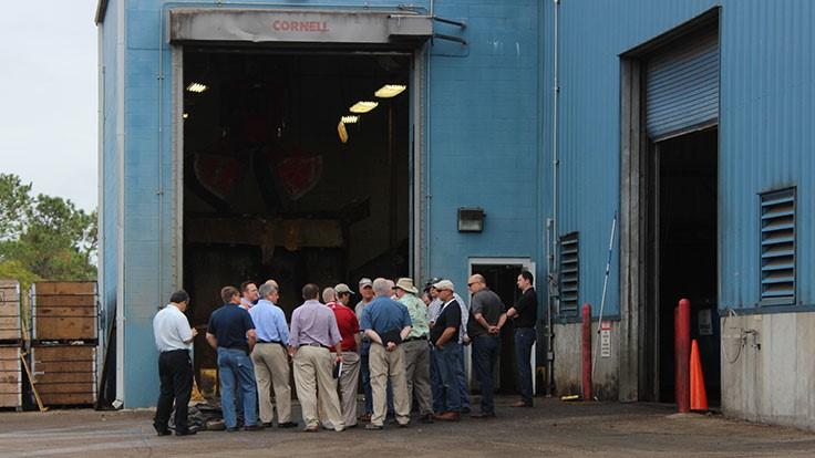 REW Conference attendees tour Harvest Power AD facility