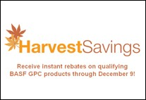 BASF Harvest Savings Promotion