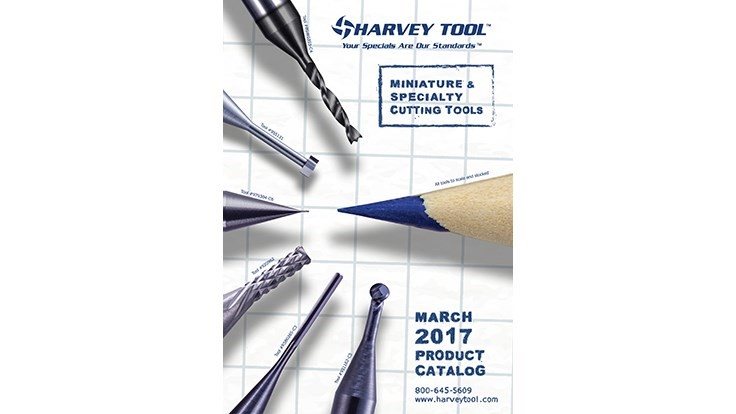 Harvey Tool launches spring 2017 catalog