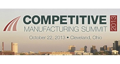 Will you be at the Competitive Manufacturing Summit?