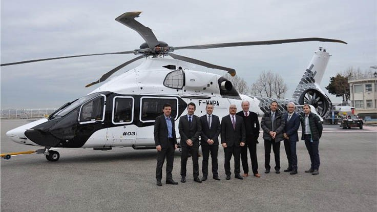 Airbus Helicopters Unveils Third H160 Prototype