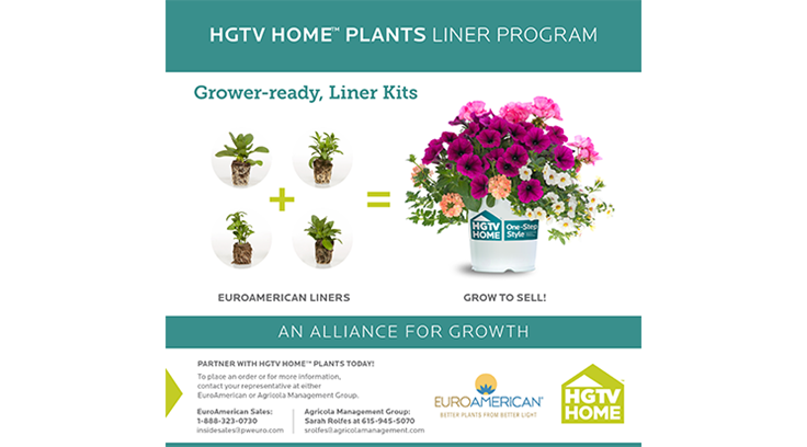 HGTV HOME launches new liner program at Cultivate'16