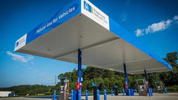 Piedmont Natural Gas opens CNG station in North Carolina