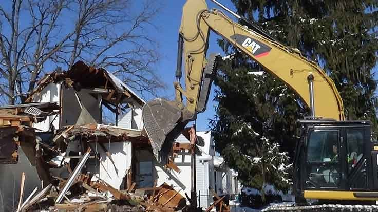 Pennsylvania county to demolish 19 blighted homes