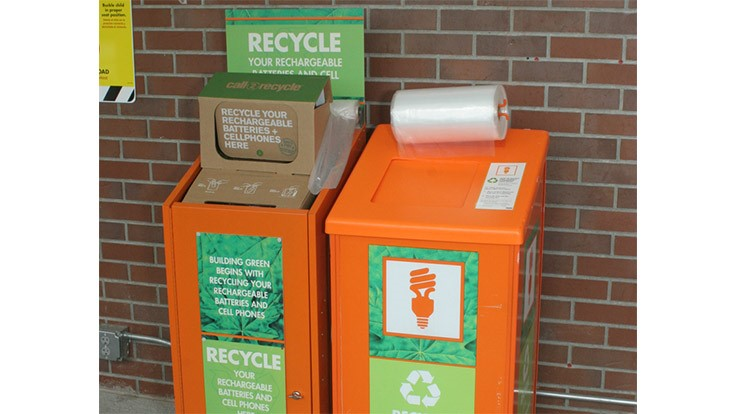 Home Depot reaches recycling milestone