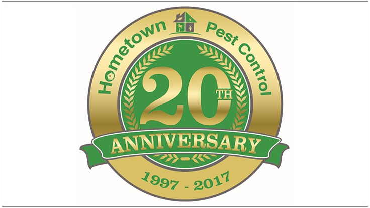 Hometown Pest Control Celebrates 20th Anniversary