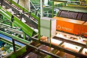 Diversified Recycling Adds Ballistic Separator, Optical Sorters
