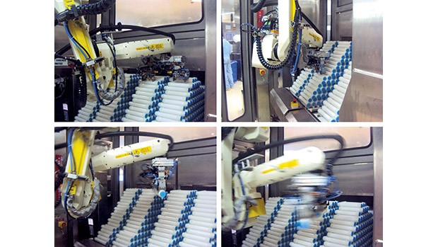 Automated handling of uneven stacks at Fresenius Medical Care SMAD