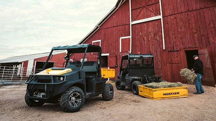Hustler enters utility vehicle market