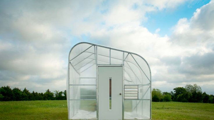 A serious hydroponic greenhouse for small growers