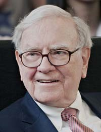 Billionaire Warren Buffett may be seeing green