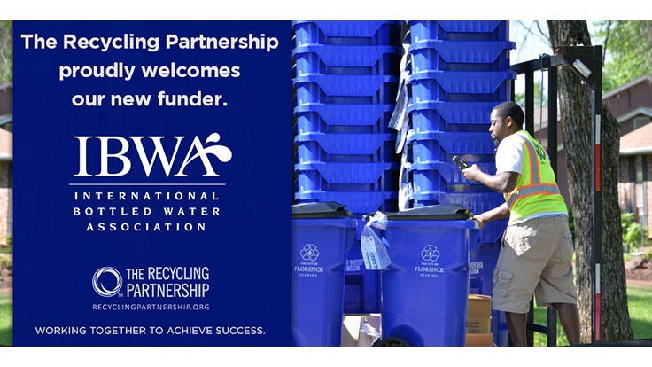 The Recycling Partnership adds funding partner