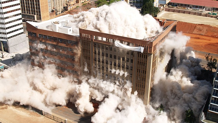 University of Nebraska dormitories set for implosion