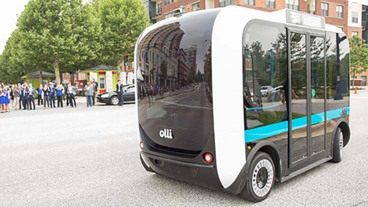 Local Motors bringing Olli autonomous bus to IMTS