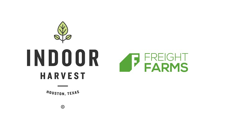Indoor Harvest and Freight Farms partner up