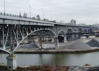 Cleveland's Innerbelt Bridge slated for demolition