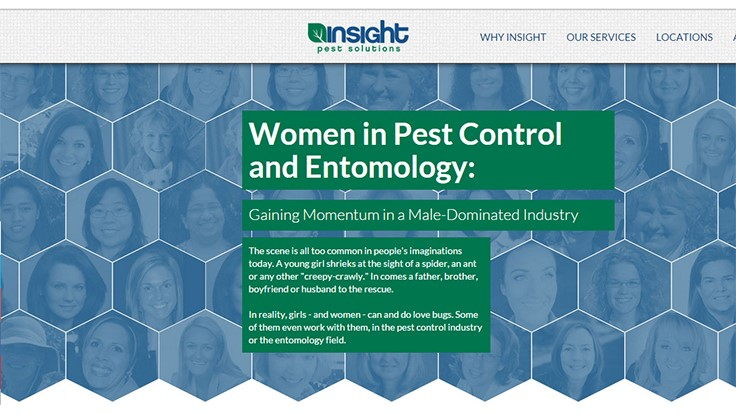 Company's Survey Sheds Light on Women in Pest Control